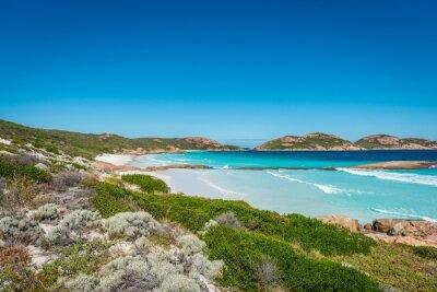 Obraz Skály na pláži, Lucky Bay, Esperance, Western Australia
