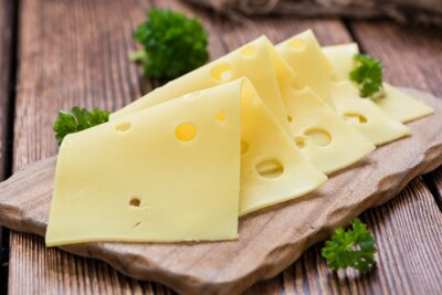 Obraz Sliced Cheese