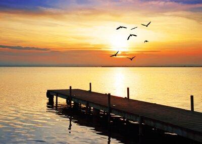 Obraz slunce a moře