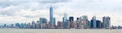 Obraz Snižte Manhatta NYC Panorama