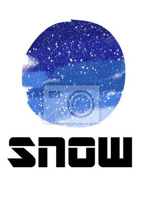 snow barva ikona