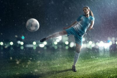 Obraz Soccer Woman