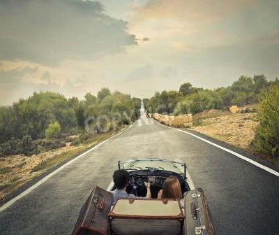 Obraz Solitary road