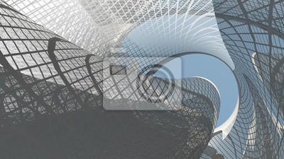 Obraz Současná architektura
