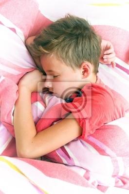 Spící chlapec