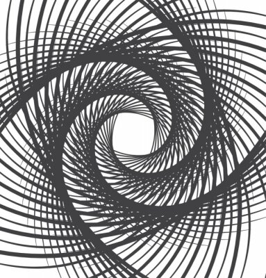 Obraz spirála vír abstraktní pozadí černé a bílé