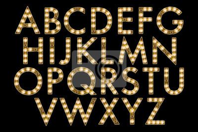 Obraz stan kolekce abeceda