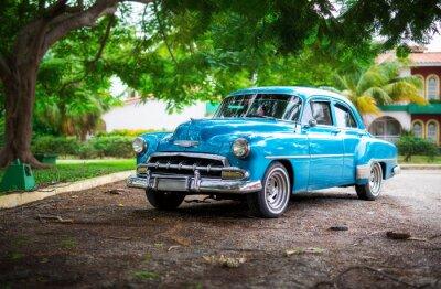 Obraz Stará auta na Kubě