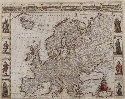 Obraz Stará Evropa