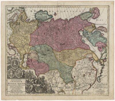 Obraz Stará mapa