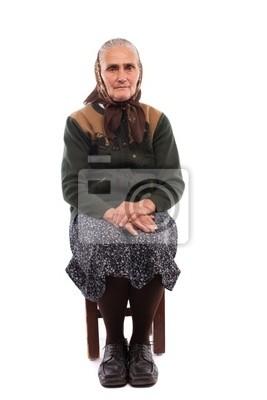 staré ženy stříkat