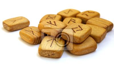 Staré dřevěné runy