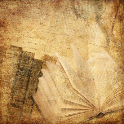 Obraz staré knihy