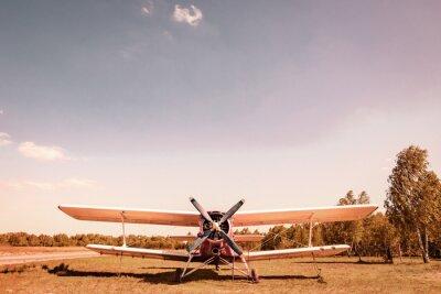 Obraz Staré letadlo. Viplane.