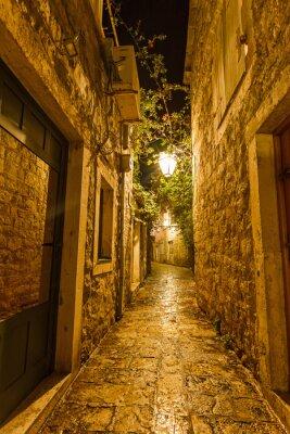Obraz Staré Město v Budva Černá Hora