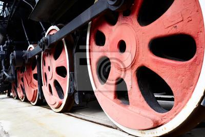 Staré Parní vlak kola