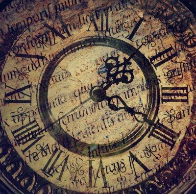 Obraz Staré starožitné hodiny