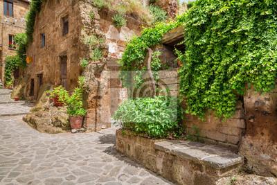 Starobylé město v Toskánsku
