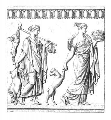 Obraz Starověk: Roman ženy