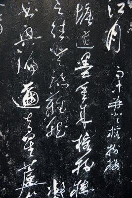 Obraz Starověké čínské slova