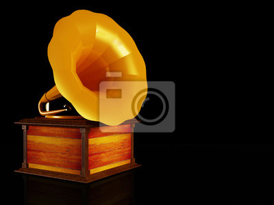 starý gramofon