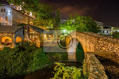 Starý most v Mostar - Bosna a Hercegovina