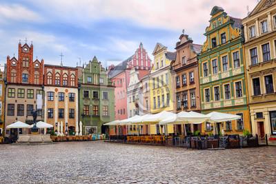 Starý Rynek, Old Marketplace Square v polské Poznani