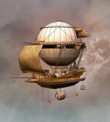 Obraz Steampunk ročník vzducholoď