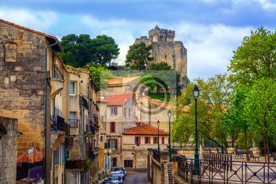Středověké staré město a hrad Beaucaire, Francie
