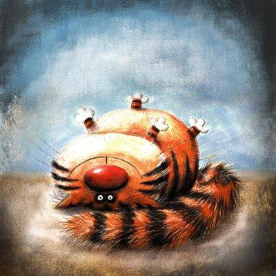 Obraz Striped cat