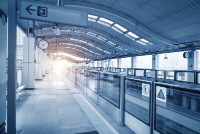 Obraz Subway station in chongqing ,china