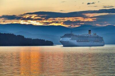 Obraz Sunrise v řecké souostroví