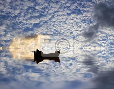 Obraz Surcando las nubes