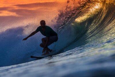 Obraz Surfař na Amazing Wave