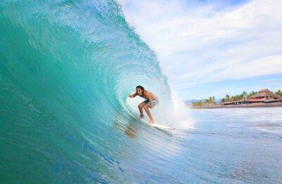 Obraz Surfař ve zkumavce