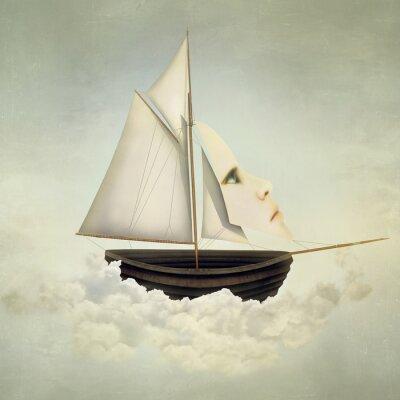 Obraz Surreal Vessel