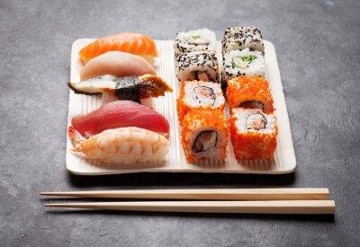 Obraz Sushi a maki set