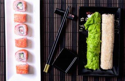Obraz Sushi na talíři