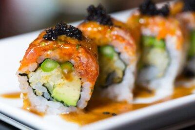 Obraz Sushi rolka