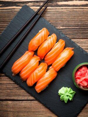 Obraz Sushi s lososem