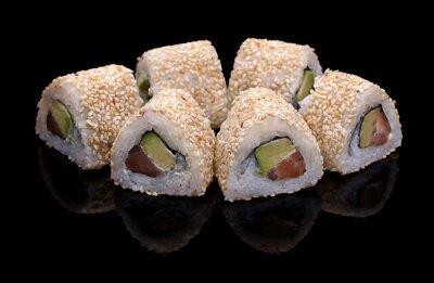 Obraz sushi, svitky