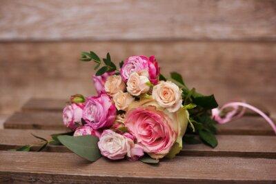Obraz svatební kytice