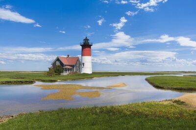 Obraz Světlo dům na Cape Cod, MA. Spojené státy americké