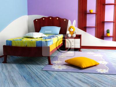 Světlý dětský pokoj