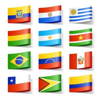 Obraz Světové vlajky.