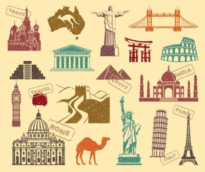 Obraz Symboly cestování