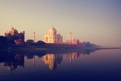 Obraz Taj Mahal Indie Seven Wonders koncepty