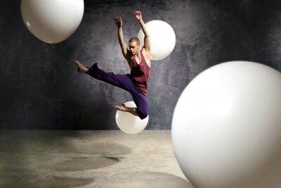 Obraz Tancerz w skoku