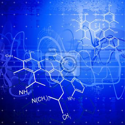 technologické zázemí: chemické vzorce