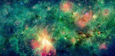 Obraz Temný mrak M17 a M17 mlhovina Swex. Retušován a vyčistit verzi původního obrazu z NASA